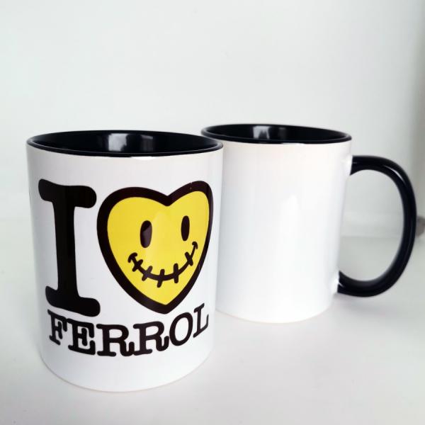 taza I love ferrol