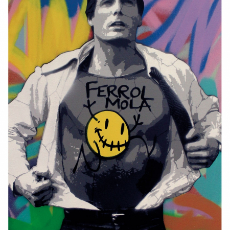"""Poster superman """"ferrol mola"""""""